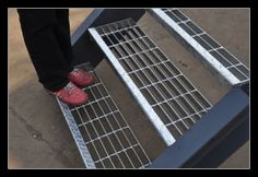 China Galvanized Stair Treads & Steel Stair Treads, Find details about China Galvanized Stair Treads, Steel Stair Treads from Galvanized Stair Treads & Steel Stair Treads - Hebei Jiuwang Metal Wire Mesh Co. Stairs Handle, Outside Stairs, Stair Ladder, Mesh Fencing, Balcony Doors, Industrial Stairs, Steel Stairs, Drain Cover, Fabric Canopy