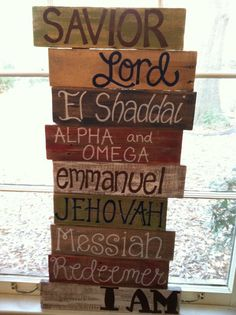 I keep seeing pallet boards or old boards with bible sayings or words.   Outline letters, let kids paint their own board and color the letters.  put together and display outside.  if bad weather time, varnish before putting out.