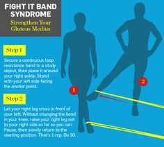 Good excerise to reduce hip/knee pain and strengthen IT band. I NEED THIS!!! Will help with my running