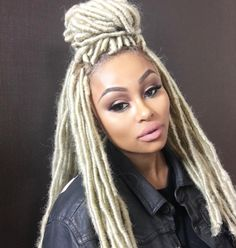 Blac Chyna's Hairstylist Dishes on the Dreadlocks That Have the Internet Buzzing