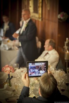 Unplugged weddings!  Wedding Photography by Richard Maidment Photography