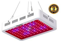 Roleadro Grow Light, LED Grow Light Full Spectrum Galaxyhydro Series Plant Light for Indoor Plants with UV&IR for Greenhouse, Hydroponics, Seedlings, Veg and Flower Indoor Grow Lights, Best Led Grow Lights, Grow Lights For Plants, Indoor Garden, Indoor Plants, Outdoor Gardens, Growing Plants Indoors, Plant Lighting, Look Good Feel Good