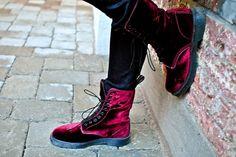 velvet footed