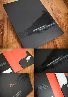 FreeMotion Fitness Brand Folder by Greta Schmidt, via Behance