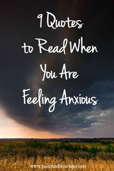 Living with anxiety and other mental health conditions is extremely challenging. Here are some quotes to help comfort you when you are feeling anxious!