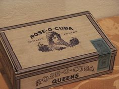 dating old cigar boxes