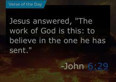 John 6:29