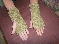 Handmade Crochet Wrist Warmers