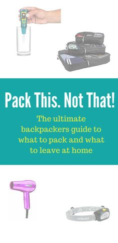The ultimate packing list. Learn what I packed for backpacking South America. I share what I used and what I should have left home. ~ http://www.baconismagic.ca