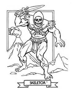 free he man and the masters coloring pages
