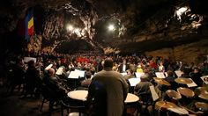 Concert Simfonic in the Valley of the Fortress Cave in Romania (Pestera Valea Cetatii)
