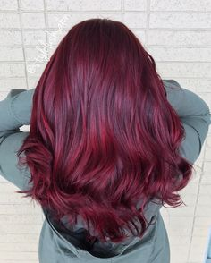 Vivid red joico color intensity