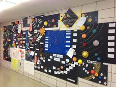 KIPPster Solar System projects! This was their first research project of the year. The research was very specific and every project included 11 paragraphs, but their final product could be anything from a written report to a 3D model!