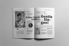 Buy Lifestyle Magazine by on GraphicRiver. Magazine layout design The magazine layout design is super easy to customize. This magazine layout template contains. Magazine Layout Design, Magazine Layouts, Editorial Layout, Editorial Design, Layout Template, Templates, Cute Designs To Draw, Types Of Printing, Print Magazine
