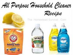 The Homestead Survival   All Purpose Household Cleaner Recipes   http://thehomesteadsurvival.com