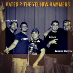 Bates & The Yellow Hammers are three young men that grew up together playing sports, chasing girls and, of course, partying together. From a small town 20 minutes north of Mobile, Alabama the boys grew up as family, not mere friends.