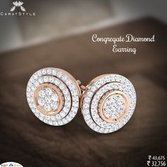 We build relationships with our clients to last.  #diamond #earring #trends #shopping #perfect #firstclass  #indianstreetfashion