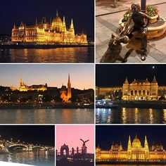 Budapest is even better at night. A cruise along the Danube gives you a front row seat to a beautifully lit up city. Travel Photos, Travel Tips, Danube River, European Destination, Budapest, Front Row, Blue Sapphire, Family Travel, Travel Inspiration