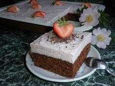 """KEFÍROVÉ ŘEZY """"MILÁČEK"""" :: Tipy na Výlety Kefir, Menu, Pudding, Cake, Desserts, Food, Menu Board Design, Tailgate Desserts, Deserts"""
