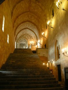 Palace of the Grand Master of the Knights, Rhodes island, Greece