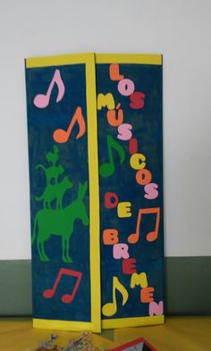 Día del libro Books, Musica