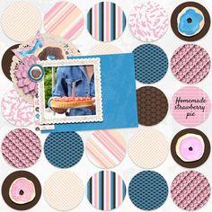 Homemade Strawberry Pie Marisa Lerin - Layout templates 28 Marisa Lerin - Donut Worry