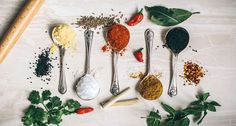 The science of Ayurveda is filled with a wealth of knowledge regarding herbs and spices; understand how to use them for better health and immunity. Ayurveda, Ayurvedic Herbs, Ayurvedic Remedies, Tomato Curry, Bbq Brisket, Fish And Chicken, Spices And Herbs, Garam Masala, Healthy Eating