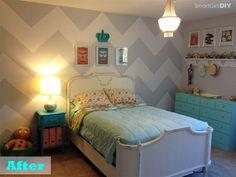 Que tal a tendência 2016 de decoração com chevron? Selecionamos as fotos mais legais de decoração com papel de parede chevron super moderno e atual!