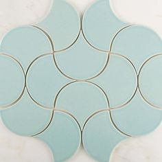 Here's to a beautiful weekend folks!! . These are Ogee Drops in Aqua set in a Moroccan Pattern. If you like this color, get a sample! Your first 5 are on us (link in profile). #handmade #tiles #design #designinspiration #moroccan