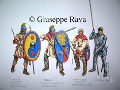 Giuseppe Rava - Tropas tardorromanas