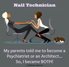 Nail Technician #NailsQuote