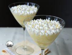 Banana cream pie... senza pie! (ovvero budino alla vaniglia con banane ;-)