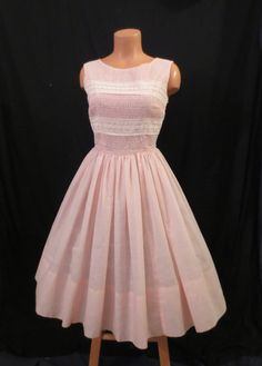 Prom Queen Cotton Candy Pink Vintage Dress - $49.99 at johnnybombshell - SOLD!