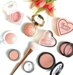The Budget Beauty Blog: My Favorite Peachy Blushes for Spring 2016 via @jennay34