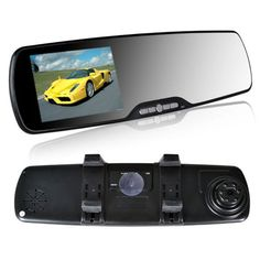 HD DV 1080P Camera Lens Car Vehicle DVR Cam Dash Video Recorder Rearview Mirror - https://lewistodd234.wordpress.com/?p=316