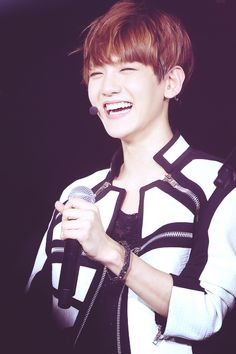 Baekhyun #EXO that eye smile were the eyes are totally gone ♥