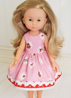 SALE Corolle Les Cheries Doll Clothes Little Red by LittleNoel, $11.50