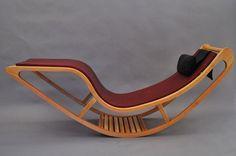 Wooden chaise longue Chairbert