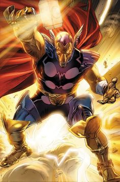 Beta Ray Bill.  Because of my natural proclivities this is MY Thor.