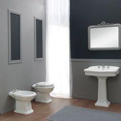 Sanitari a terra 56x40 cm Old Italy Terra, Toilet, Italy, Curtains, Shower, Bathroom, Rain Shower Heads, Washroom, Flush Toilet