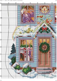 Sandy Orton is an expert designer in creating beautiful patterns for the . - Sandy Orton is an expert designer in creating beautiful cross stitch patterns famous for her sample - Cross Stitch Christmas Stockings, Cross Stitch Stocking, Xmas Cross Stitch, Cross Stitch Books, Cross Stitch Needles, Cross Stitch Samplers, Christmas Cross, Cross Stitch Charts, Cross Stitch Designs