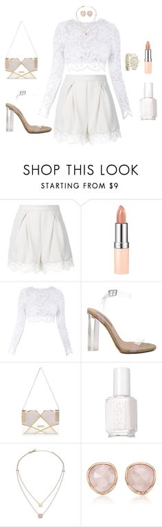 """""""Untitled #453"""" by thickgurlsrus ❤ liked on Polyvore featuring Zimmermann, Rimmel, Stone_Cold_Fox, YEEZY Season 2, River Island, Essie, Michael Kors, Monica Vinader and Charlotte Russe"""