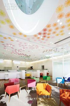 from Interior Design Magazine online: Interior of a bank in Tokyo.