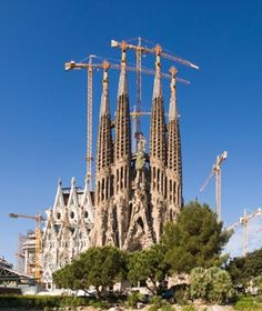 No. 31 Basilica de Sagrada Familia, Barcelona - World's Most-Visited Sacred Sites | Travel + Leisure