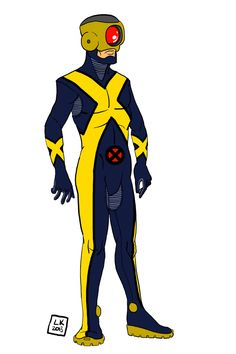 Cyclops Redesign by Larry King