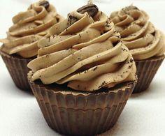 Mocha cupcake soap
