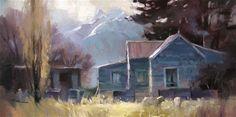 "Daily Paintworks - ""Homestead"" - Original Fine Art for Sale - © Richard Robinson"