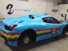 dd353e5cff Deadmau5 Has a Nyan Cat Ferrari