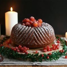 Christmas Bundt Cake-Get your hourly source of sweet...