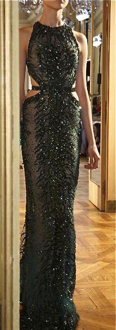 Zuhair Murad, 2013/2014 black glitter gown